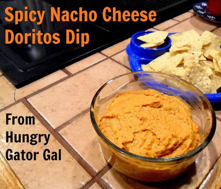 Hungry Gator Gal Spicy Nacho Cheese Doritos Dip