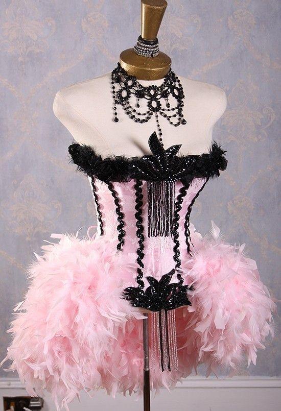 Flamingo Costume or Paris Burlesque Costume.. LOVE