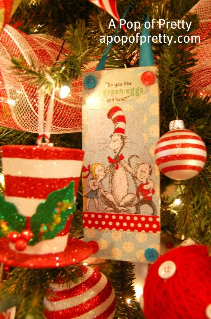 45 best Ornaments Iu0027ve painted images on Pinterest Hand painted - dr seuss christmas decorations