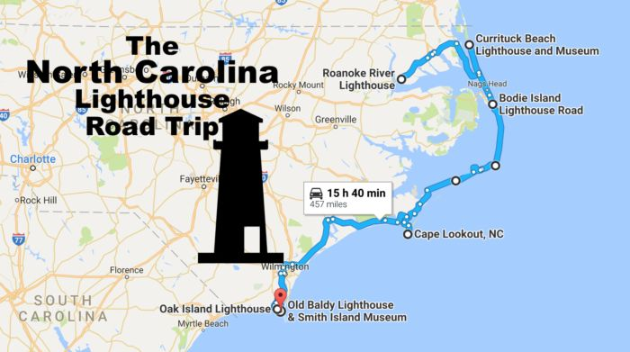 Travel | North Carolina | Lighthouse | Road trip | Maps | Adventure | Outer Banks