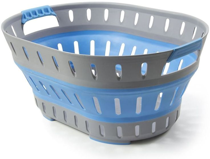 Get Free Delivery on Companion Pop Up Laundry Basket - Blue - Huge Range of Camping Washing Machines at Australia's Best Online Camping Store