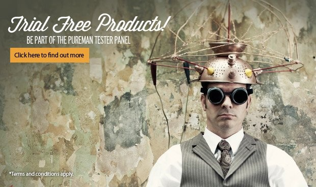 """FREE PRODUCT.    Interested in getting FREE products?  Well listen up! We are looking for testers to add to our """"PUREMAN Testing Panel."""" follow link for more info.    http://pureman.com.au/be-a-pureman-tester"""