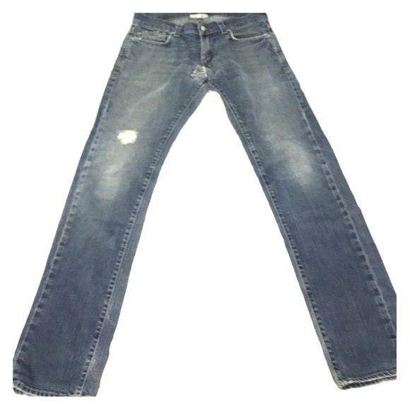 511  Levis men's slim jeans Super cool distress jeans with a 90s flare with modern cut 30x32 Jeans Skinny