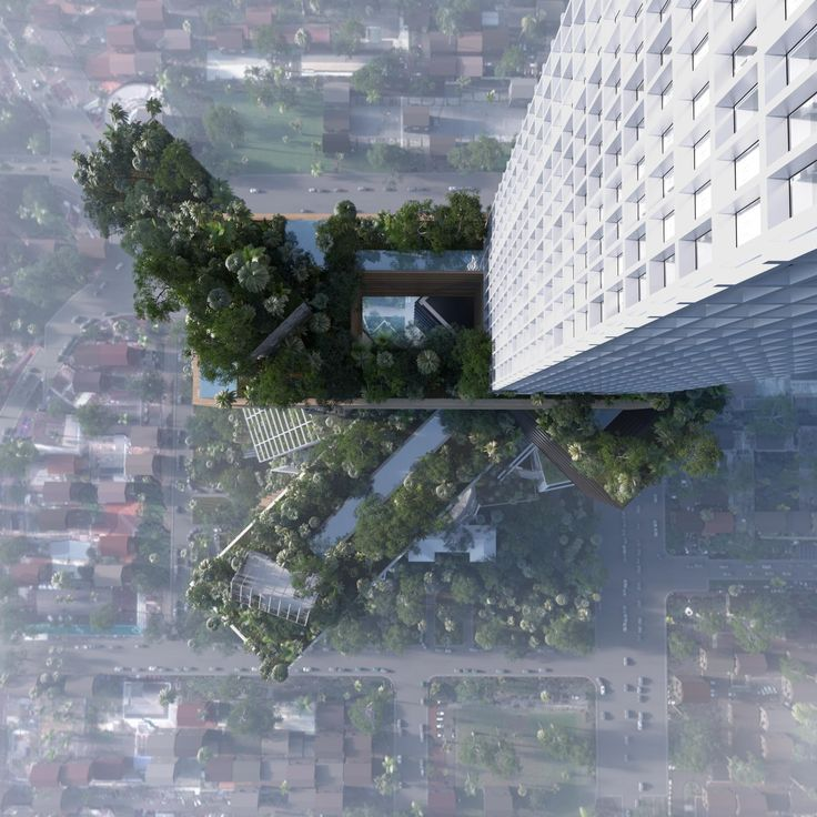 The Jerde Partnership (commercial podium) and ARUP, together with developer Wijaya Karya – Benhil Property, have collaborated to create Peruri 88 – a new landmark icon for Jakarta. Peruri 88 will be a vertical city in one building combining Jakarta´s need for more green spaces with the need for densification.