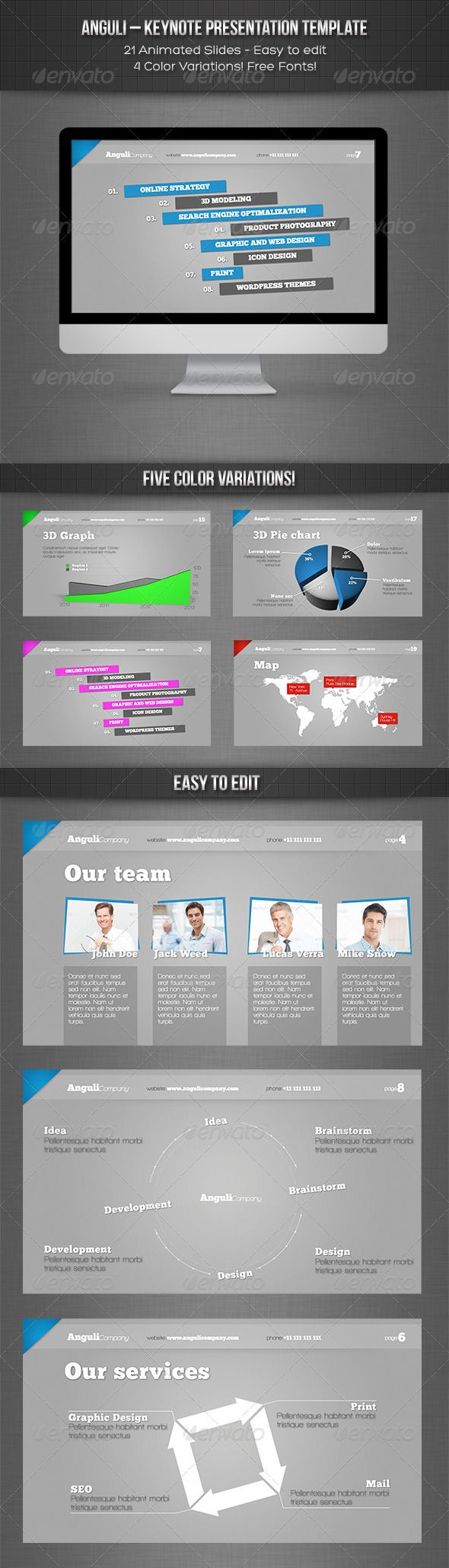 53 best ppt template images on pinterest visual communication buy anguli keynote presentation template by janstyblo on graphicrivery files psd files with backgrounds full hd toneelgroepblik Images