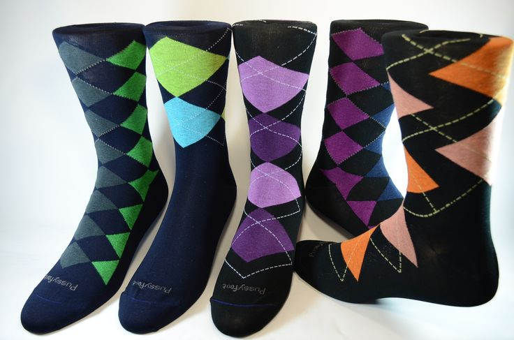 Pussyfoot Socks Argyles
