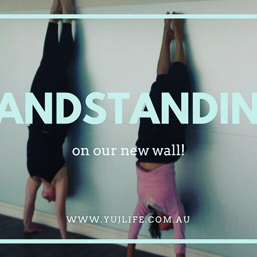 With more wall space and a few less mirrors we have space for practicing getting upside down! Come get your feet over your head with us in a workshop soon! 👌#yujlifeyoga #yujlife #glenosmondroadyoga #glenosmondroad #adelaideyogastudio