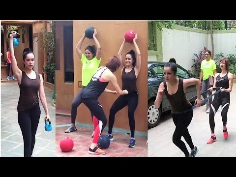 CHECKOUT Shraddha Kapoor's Unseen Workout Video.    Click here to see the full video > https://youtu.be/dmKJuJ_rmHU    #shraddhakapoor #bollywood #bollywoodnews #bollywoodnewsvilla