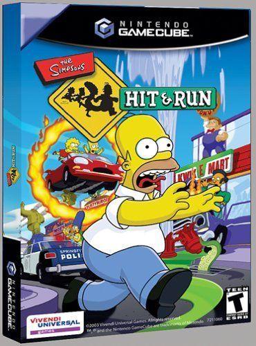simpson hit and run gamecube