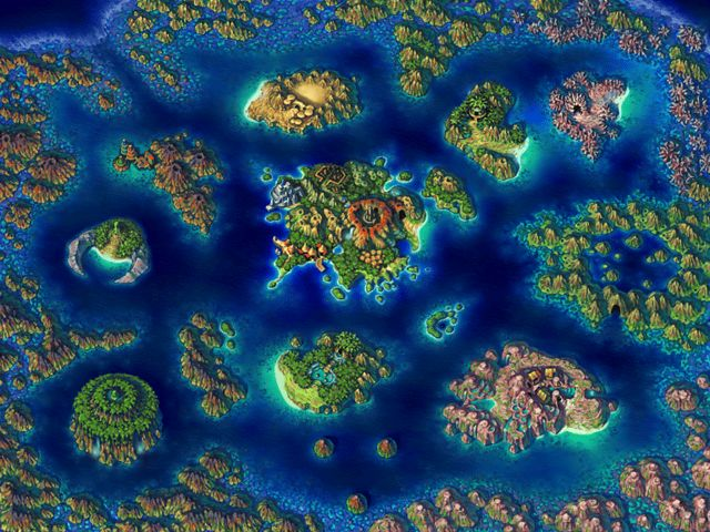 Beautiful Video Game World Maps