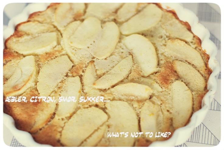 Torta di Mele (italiensk æbletærte)