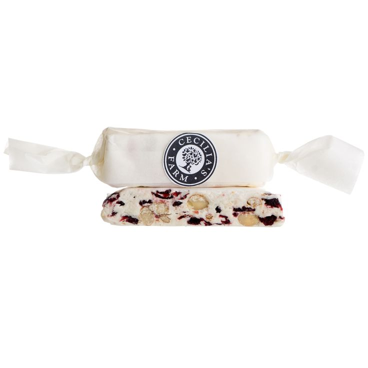 Our nougat is handmade in our factory in small batches and is flying off the shelf here in our Farm Shop… But with our delicious cranberries and Californian almonds in, and a creamy white chocolate base it really is so good we're not that surprised! http://ceciliasfarm.co.za/product/cranberry-almond-nougat-2/