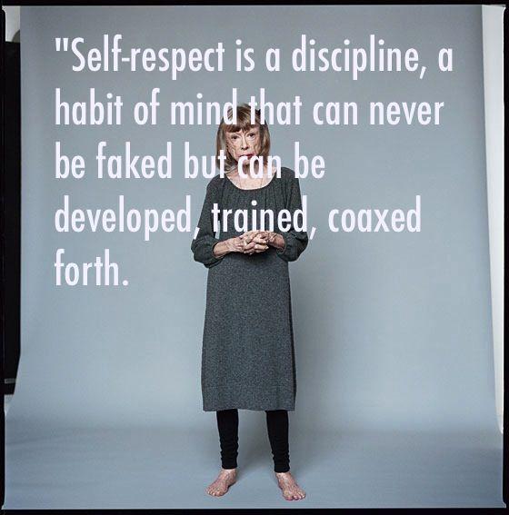 on self respect essay