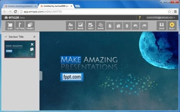 Create Amazing Interactive Presentations From Your Browser With Emaze