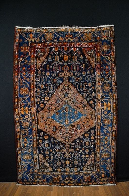Antique tapis ca:207x130cm tappeto tapis collectorpiece!!! | eBay