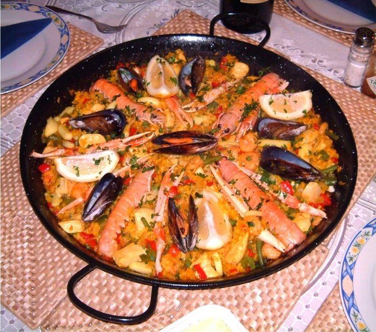 Paella, İtalyan