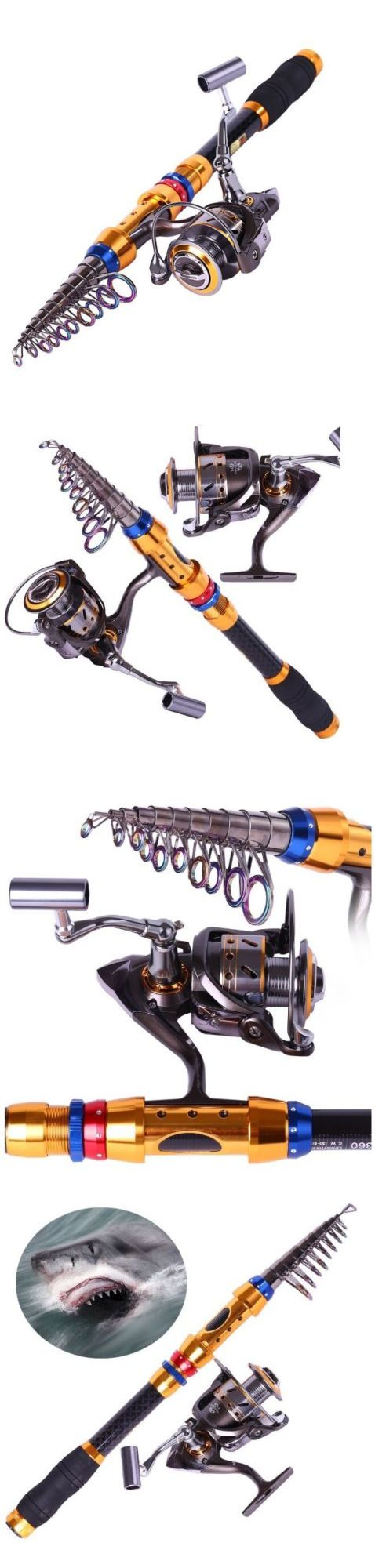 Saltwater Combos 179959: Sougayilang Portable Telescopic Fishing Rod And Reel Combos Tra... Free Shipping -> BUY IT NOW ONLY: $38.99 on eBay!