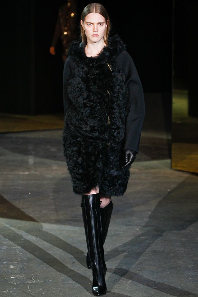 Alexander Wang - A very modern way to wear fur!