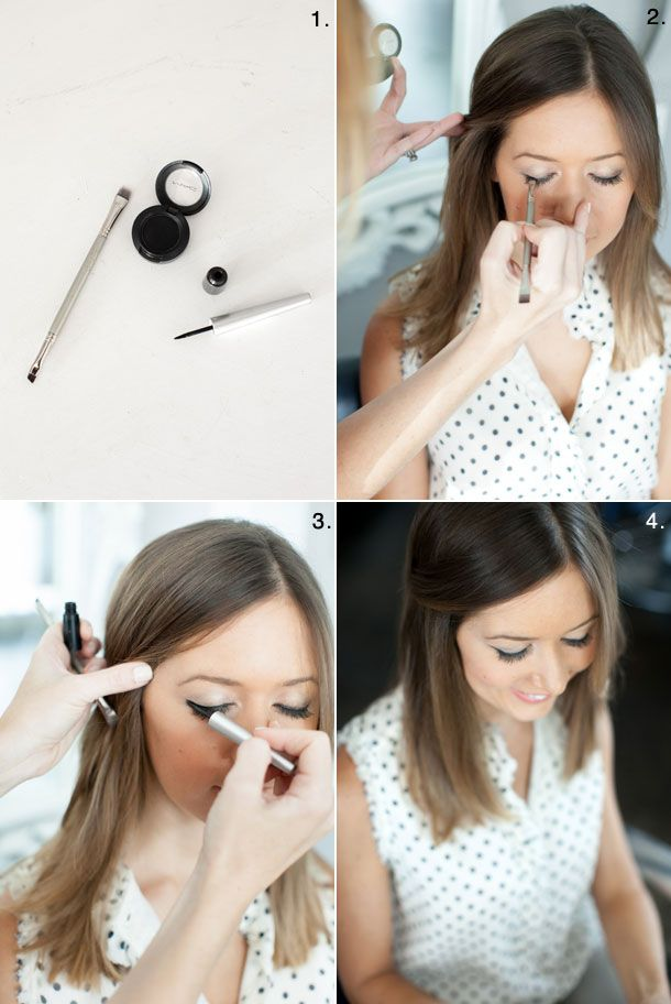 Cat Eye Tutorial by Martha Lynn Kale | photos by Kate Stafford for Camille Styles