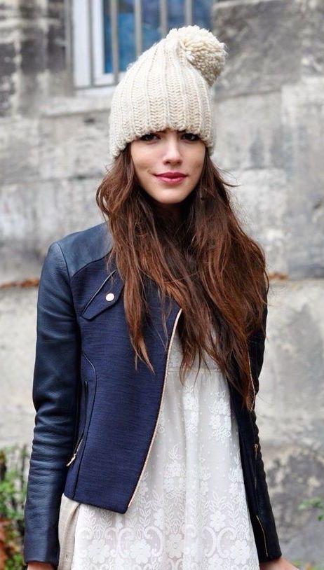 #street #style fall / mixed jacket