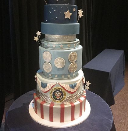 The bizarre story of Trump's plagiarized inauguration cake / Boing Boing
