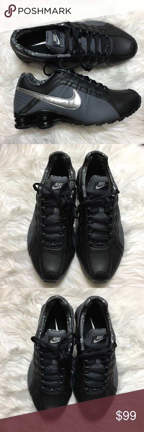 Nike Shox Junior BRAND NEW- ORIGINAL BOX NO LID  ✅PRICE CAN BE NEGOTIATED THROUGH OFFER BUTTON                                                                                                             ✅NEXT DAY SHIPPING ✅BUNDLES DISCOUNT                                                                 🙅🏻 NO TRADES 🙅🏻NO LOWBALLING Nike Shoes Athletic Shoes