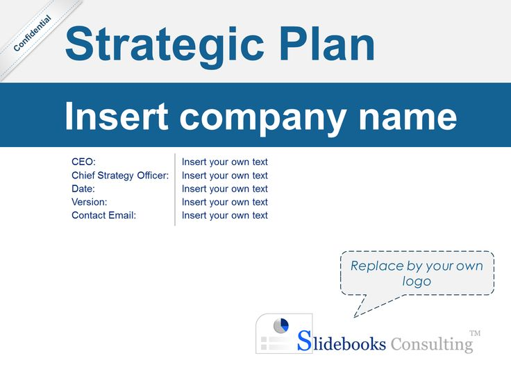 15 best Simple Strategic Plan Template By ex-McKinsey Consultants