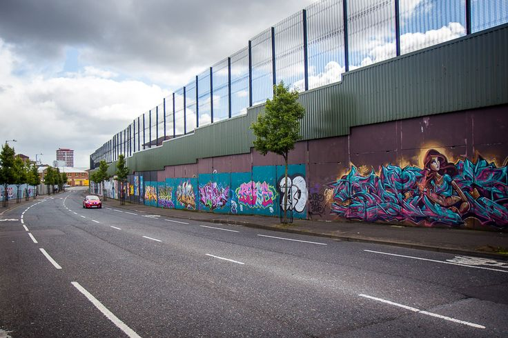 Belfast Peace Wall murals, Belfast, Northern Ireland. This gave me chills today.