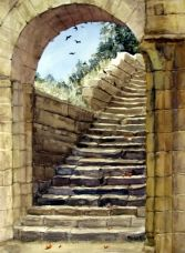 Fountains Abbey Stairway