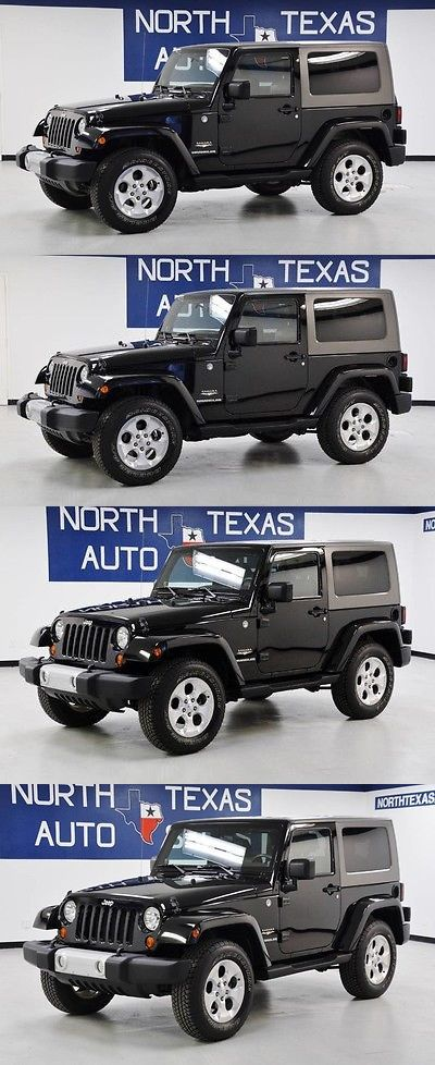 SUVs: 2010 Jeep Wrangler Sahara 2010 Jeep Wrangler Sahara Black Suv Automatic BUY IT NOW ONLY: $17995.0