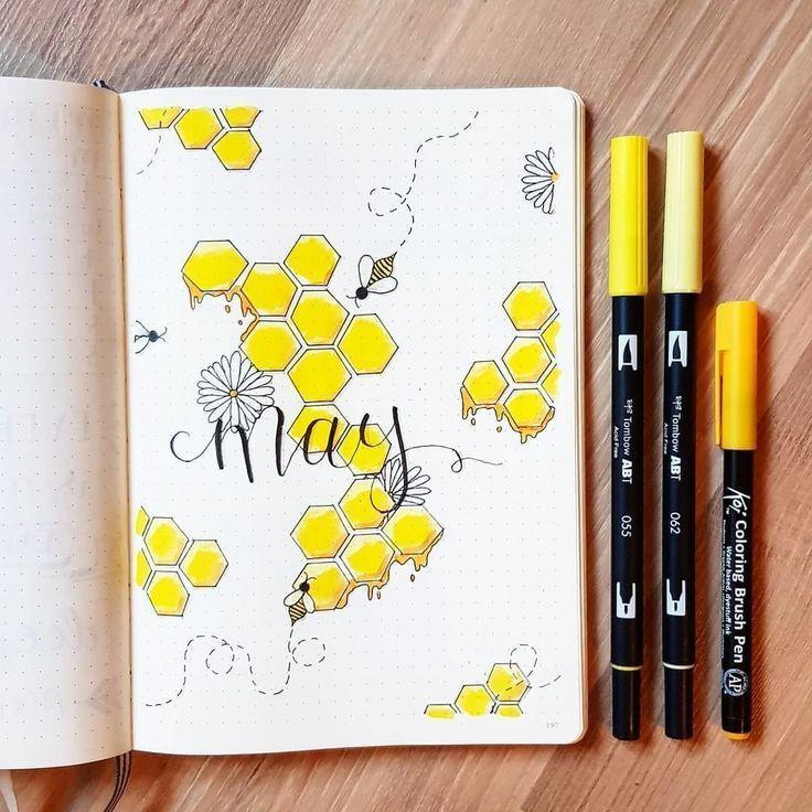 Donna Muench.stefani wurde im Mai von Bienen und Honig inspiriert