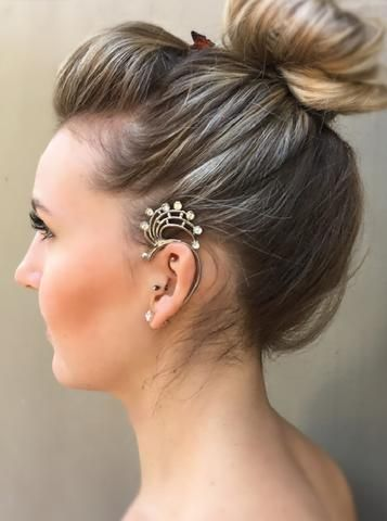 Ear Cuff - Galaxy - by Drizzle Jewellery