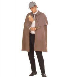Widmann Detektiv Umhang Agenten Mantel Sherlock Holmes Kostüm | Netzspielzeug