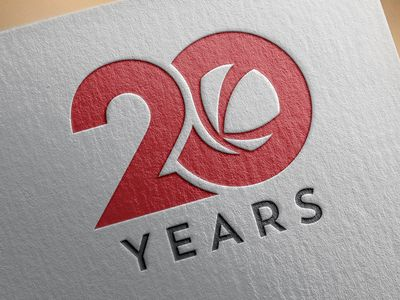 Dribbble - Kalkomey 20th Anniversary logo by Jared Hardwick