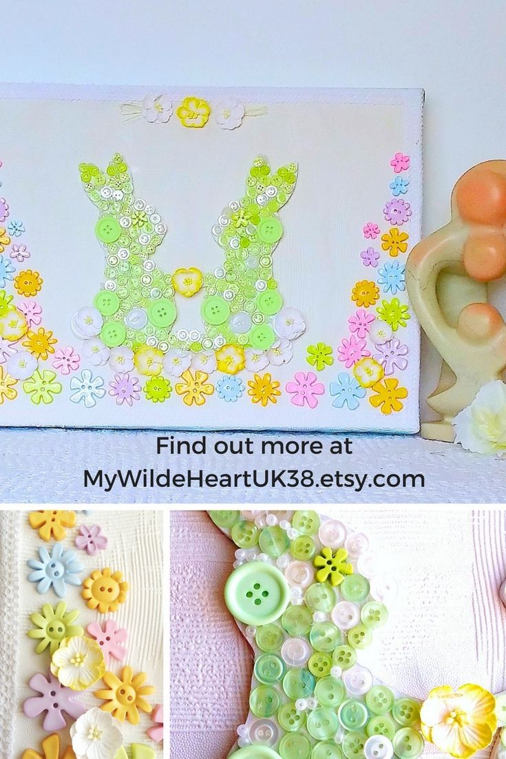 I loved making this bunny nursery picture. I aimed to give a sense of the beauty of woodland, with spring flowers, and, of course, bunnies! Being gender neutral it is also suitable for a new baby boy or baby girl.  Click through to my shop or copy this link into to our browser to go directly to the item https://www.etsy.com/uk/mywildeheartuk38/listing/535519635