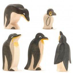 Pinguine 5tlg. Ostheimer SET