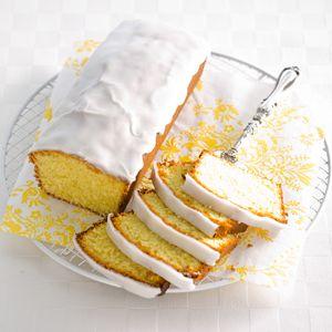 Recept - Kokos-limoencake met limoenglazuur - Allerhande