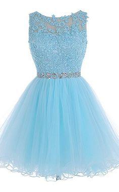 #homecoming dress #homecoming dresses #Short Prom Dresses #short homecoming dresses #open back homecoming dress #2016 Homecoming Dress#Light Blue lace homecoming dress