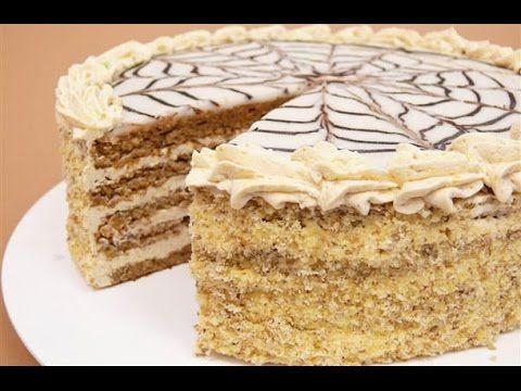 VIDEÓ    !!!!!!!!!!!  Eszterházy torta - YouTube