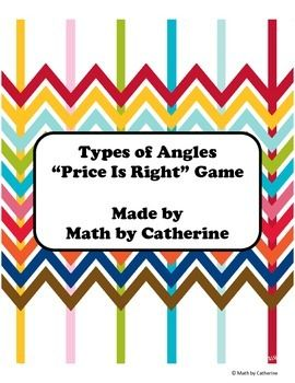 This product is a matching game where students must match the correct angle name to the correct angle picture.