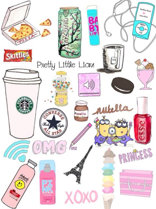 A hipster background for a real girl