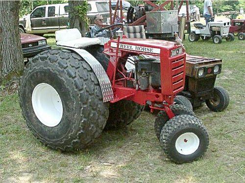 Wheel Horse Tractors : Wheel horse tractors photo garden and misc