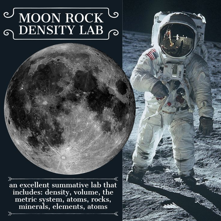Could it really be a #Moon rock?! In this #lab, students determine the density of various rocks and decide which could be a Moon #rock! It is a great review of geography, #atoms, #density, volume, mass, the metric system, #volcanoes and plate tectonics. #science #lesson #space