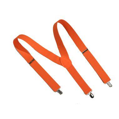 Oranje bretels  Laat zien dat je oranjegezind bent en draag deze oranje bretels met Koningsdag of tijdens het aanmoedigen van ons nationale voetbalteam!  EUR 2.50  Meer informatie