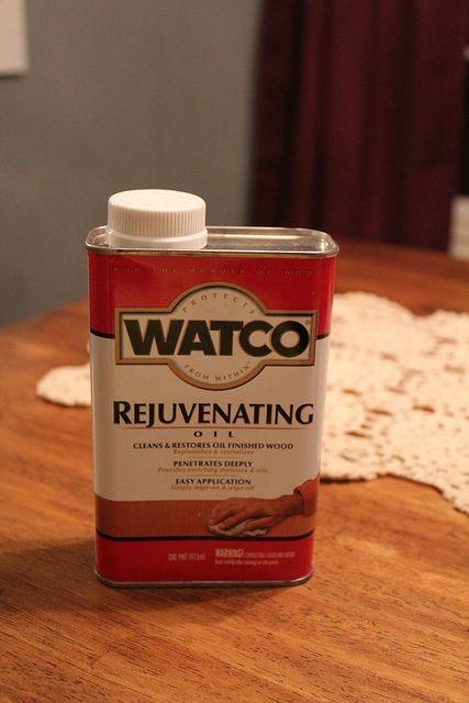 rejuvenate old wood