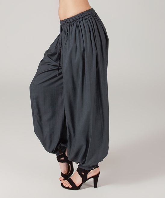 Gray Harem Pants