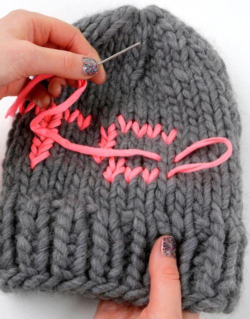 DIY: duplicate stitch