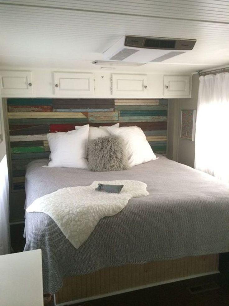46 Totally Comfy Rv Bed Remodel Design Ideas | Bedroom ...