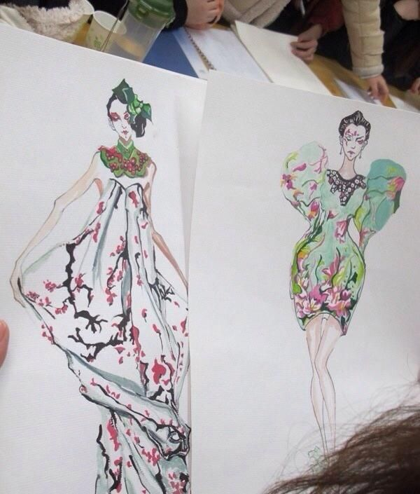 42 best images about Fashion Illustration Inspirations on ...