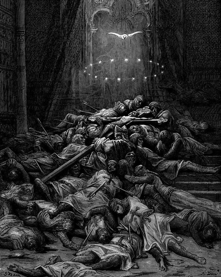 Gustave Doré, The Dark Divine Comedy